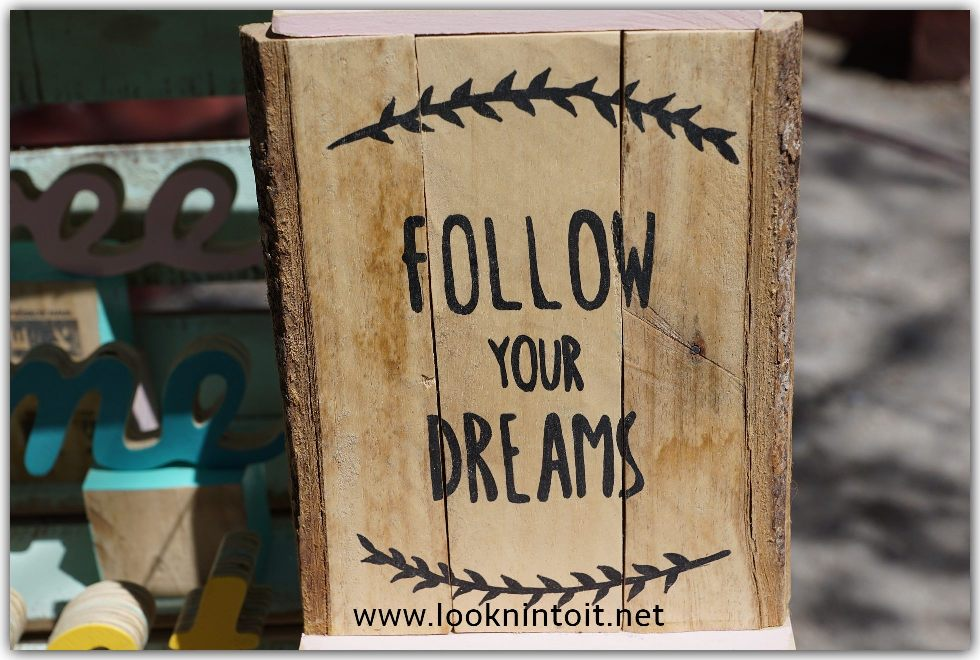 Follow your dreams quote image